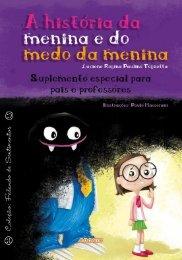 Suplemento 'A história da menina e do medo - Editora Adonis
