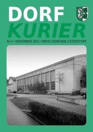 04/2003 - Gemeinde Utzenstorf