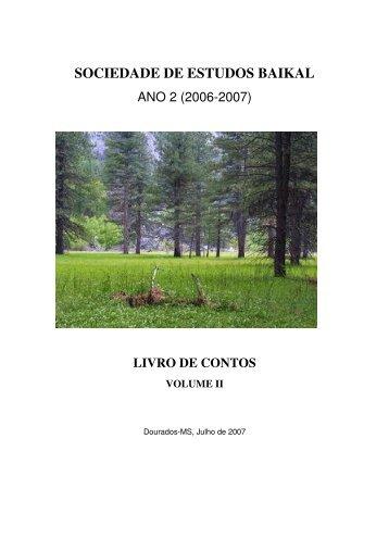 13/07/2011 Livro de Contos ano 2 - Grupobaikal.com.br