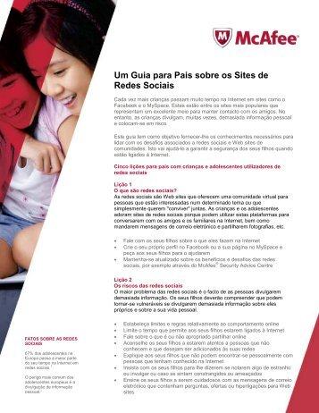 Um Guia para Pais sobre os Sites de Redes Sociais - Toshiba