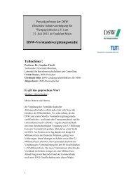 DSW-Vorstandsvergütungsstudie - TUM