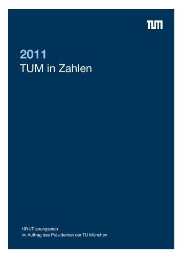 TUM in Zahlen 2011