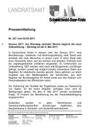 Pressemitteilung, Vorlage - Tuningen