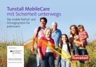 Tunstall MobileCare mit Sicherheit unterwegs - Tunstall GmbH