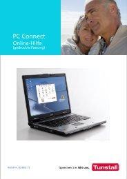 Online-Hilfe für PC Connect Programmiersoftware ... - Tunstall GmbH