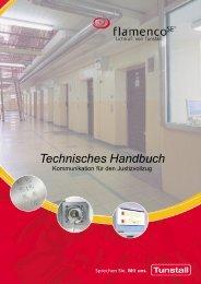 Flamenco SE Technisches Handbuch (4,00 MB) - Tunstall GmbH