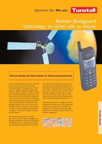 051-06/66 Mobiler Hausnotruf - Tunstall GmbH