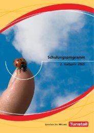 Schulungsprogramm d - Tunstall GmbH