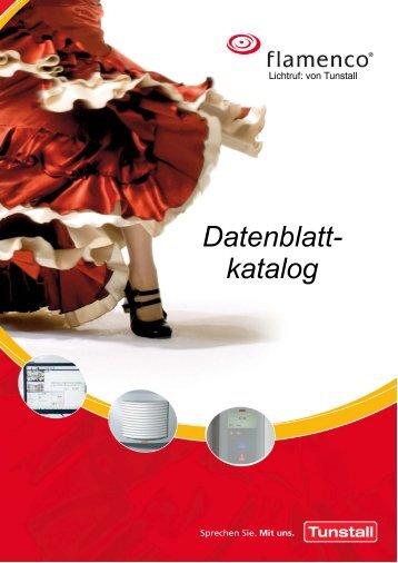 Flamenco Datenblattkatalog - Tunstall GmbH
