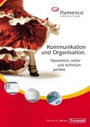 Kommunikation und Organisation. - Tunstall GmbH