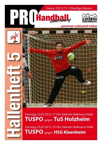 PROHandball - TUSPO Obernburg