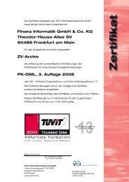 Finanz Informatik GmbH & Co. KG Theodor-Heuss-Allee 90 ... - TÜViT