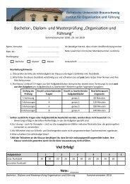 Vertiefungsklausuren (SS 10) - Technische Universität Braunschweig