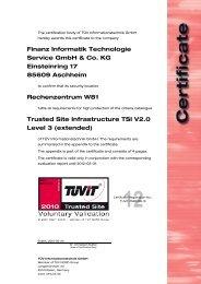 Finanz Informatik Technologie Service GmbH & Co. KG Einsteinring ...