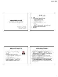 Organisationales u. pol. Lernen (pdf)