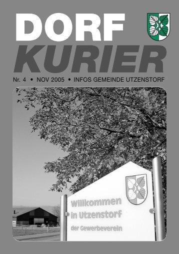 04/2005 - Gemeinde Utzenstorf