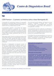 CDB Premium – O primeiro na América Latina a fazer Mamografia 3D
