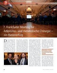 7. Frankfurter Meeting für Adipositas- und metabolische Chirurgie ...