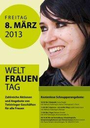 Weltfrauentag 2013 - Stadt Twistringen