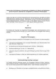 Satzung Erhebung Kostenersatz FFw - Stadt Twistringen