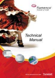 Flamenco Technical Manual - Tunstall GmbH