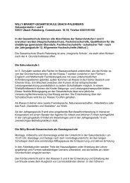 Veröffentlichung Gesamtschule Anmeldung Sj 2013-14