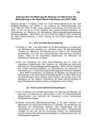 5.4 Satzung über die Wahrung der Belange von Menschen mit ...