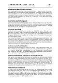 Jahresrechnung 2011 - Veska - Seite 2