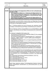 Regionalplan der Region 8, Stellungnahme zur 11. und ... - Uffenheim