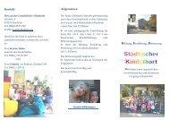 Kontakt Allgemeines: Bildung, Erziehung, Betreuung - Uffenheim
