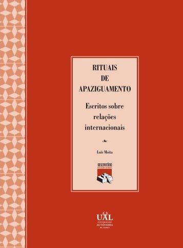 rituais apaz - Luís Moita