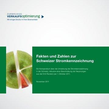 Fakten und Zahlen zur Schweizer ... - VerkaufsOptimierung...