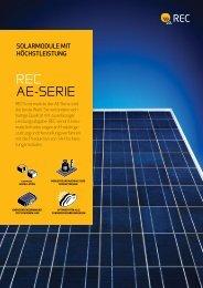 REC AE-SERIE - SonnenPlus GmbH