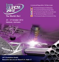 23 – 27 October 2012 Hanover, Germany - UFT Produktion GmbH