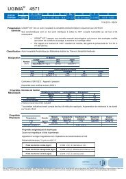 version français (pdf, 482.58 Kb) - Ugitech