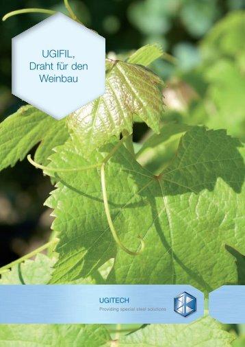 UGIFIL, Draht für den Weinbau - Ugitech