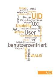 ganzheitlich und benutzerzentriert - User Interface Design GmbH