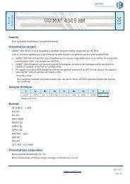 UGIMA® 4305 HM - Ugitech