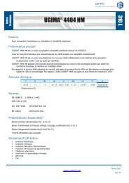 UGIMA® 4404 HM - Ugitech