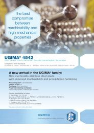 UGIMA® 4542 - Ugitech