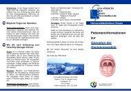 Tonsillektomie - Universitätsklinikum Essen