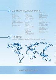 www.ugitech.com UGITECH production plants UGITECH