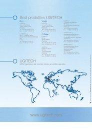www.ugitech.com Sedi produttive UGITECH UGITECH