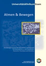 Atmen & Bewegen - Universitätsklinikum Essen