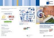 41. Klinisches Kolloquium Ursachen, Diagnostik und Therapie ...