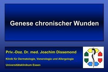 Genese chronischer Wunden - Universitätsklinikum Essen