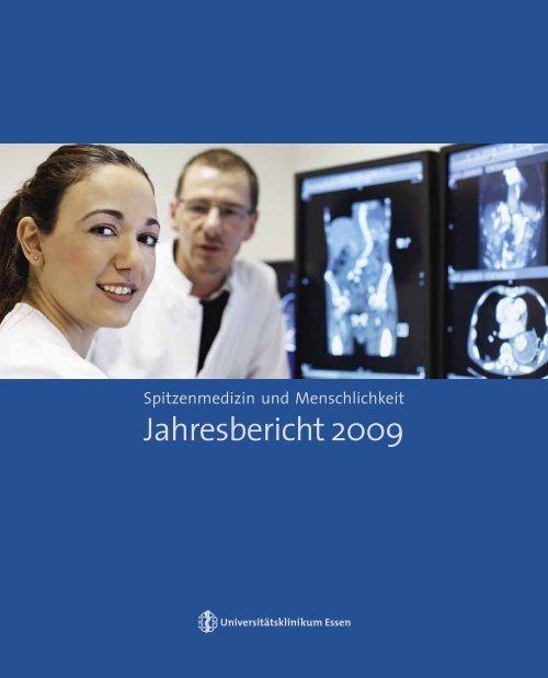 Jahresbericht 2009 - Universitätsklinikum Essen