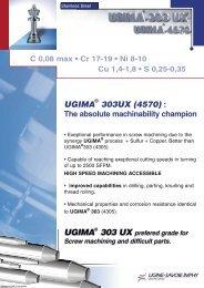 UGIMA UGIMA - Ugitech