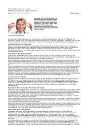 Pharmazie und Pharmagie gehören zusammen - SpringerMedizin 1