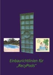 Recy-Pools - Uk-schwimmbadtechnik.de